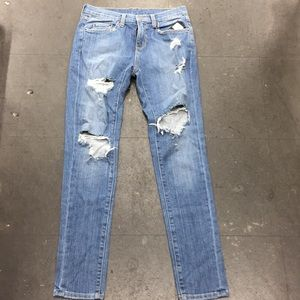 Ripped up denim jean from Carmar